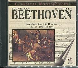 BEETHOVEN: SYMPHONY NO. 9 IN D MINOR op 125 (Ode to Joy)