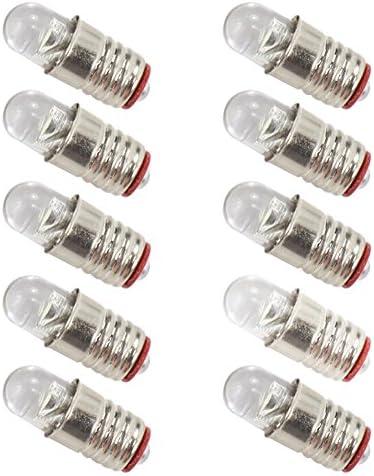 Replacement LED E5.5 3,5-4,5 Volt 5 Piece NEW
