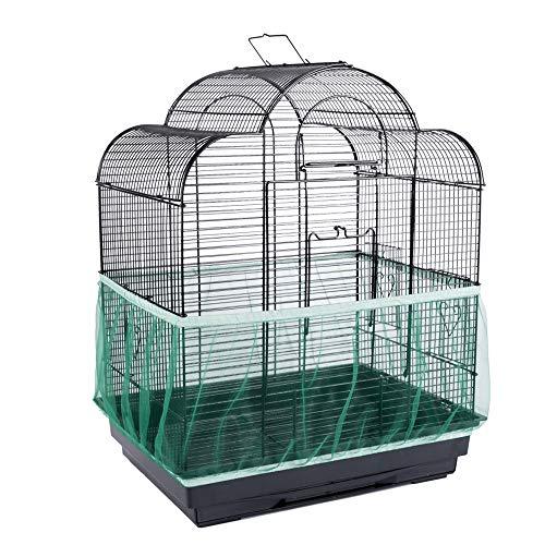 Tingge Schmutzblenden für Vogelkäfige, Grün
