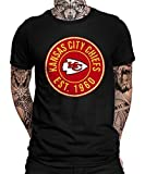 Kansas-City Chiefs vs. Tampa-Bay Buccaneers Playoffs American Football NFL Super Bowl 55 Bucs T-shirt pour homme - Noir - Small