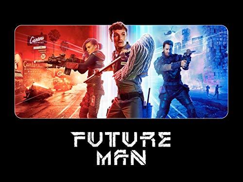 514TBMyNCML. SL500  - Future Man Saison 3 : C'est le début de la fin des voyages temporels de Josh, Tiger et Wolf, ce dimanche sur OCS