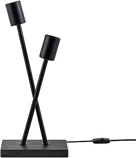 Paco Home Lampadaire Lampe De Bureau Lampe LED Salon Vintage Rétro Design Industriel E27, Taille Set:Sans source, Pied de...