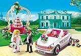 Playmobil City Life - Juego de construcción para pareja de novios con coche
