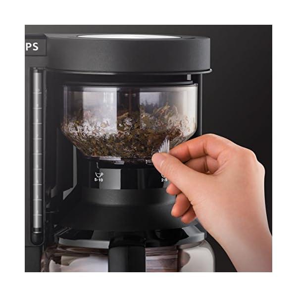 Krups KM8508 Cafetera de goteo, 1100 W, 1 L, plástico, color negro