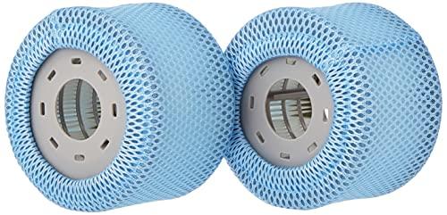 MSpa Ersatz-Filterkartuschen, Whirlpool-Zubehör, 90 Falten, passend Modelle, 2 Stück, Papier, weiß, Einheitsgröße