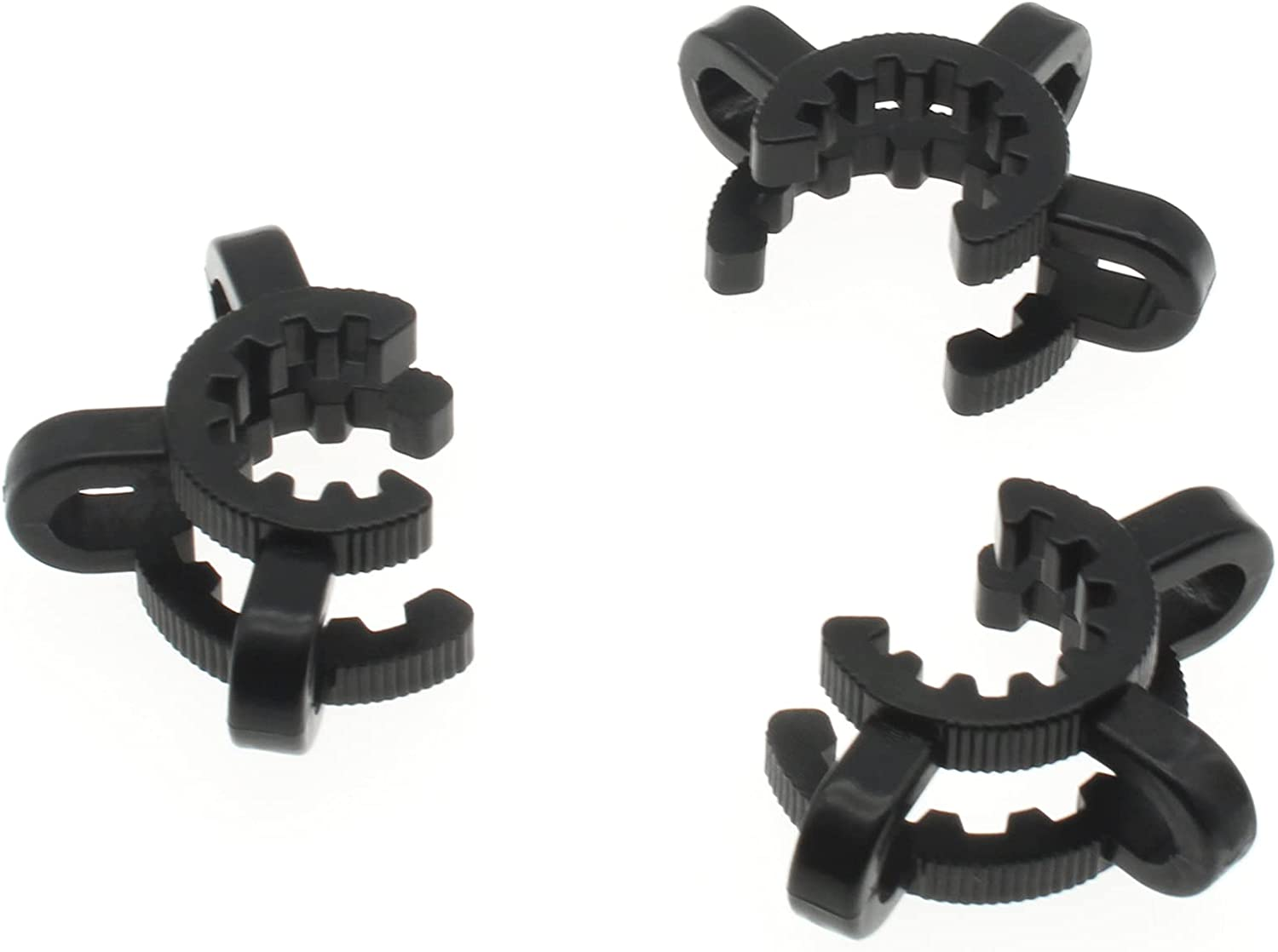 LBTODH 4 Pcs Laboratory Keck Luxury goods Clamps for 14mm Plastic Clips low-pricing Joint