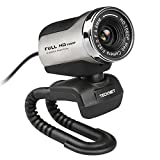 TECKNET 1080P HD Webcam With Built-in...