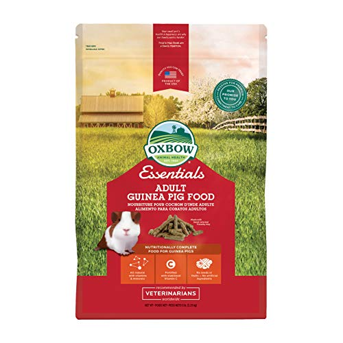 Oxbow Essentials Deluxe Adult Guinea Pig Food - 5 lb.