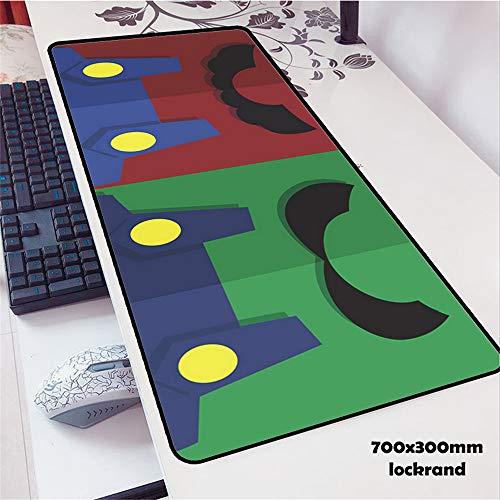 cojín de ratón del Juego cojín del Juego de Goma cojín de la computadora de Escritorio 4 900x300x2