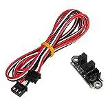 SY ZYQ 1M 3Pin Optischer Endstoppgrenze-Schalter-Sensor mit Kabeln for 3D-Drucker Plug-freie Druckerteile