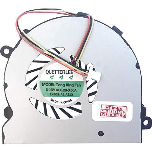 Lüfter/Kühler Fan kompatibel mit Dell Inspiron 15-5447, 15-5448, 15-5548, 15-5545, 15-5547