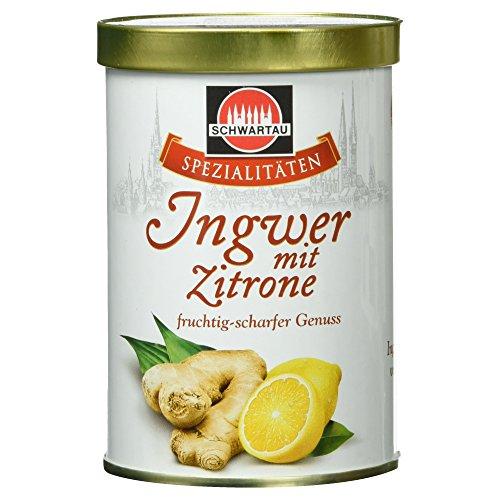Schwartau Spezialitäten Ingwer-Zitrone, fruchtig scharfer Fruchtaufstrich, 350 g Dose