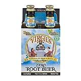 Virgil's Zero Soda Root Beer 12 oz Bottle -- 4 Pack