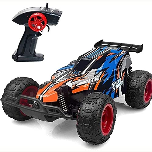 ZHRENXN 1/22 Ratio Control Remoto Vehículo Todoterreno 2.4G Eléctrico De Alta Velocidad Carreras Big Foot Escalada RC Truck Resistente Modelo para Acampar Coche De Juguete Kid