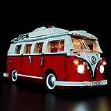 Kyglaring Led Lighting Kit for Creator Volkswagen T1 Camper Van - Light Set Compatible with Lego 10220 Building Blocks Model- (Not Include The Lego Set) (Classic Version)