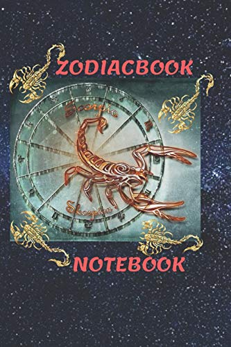 Zodiacbook: Paper in a line 120 Pages Notebook Notepad