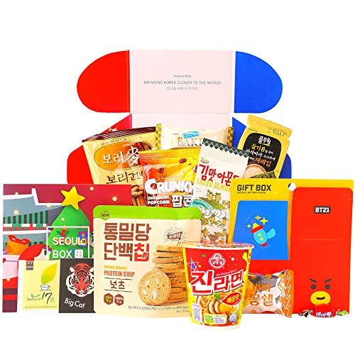 Halal SeoulBox   Authentic Korean Snacks and Epic Kpop Merchandise Gift Box
