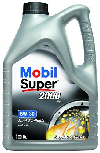 Mobil Super 2000 X1 5W-30 Motorolie, 5L