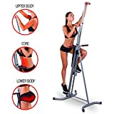 MaxiClimber(r) - The Original Patented Vertical Climber, As Seen On TV - Full Body Workout with...