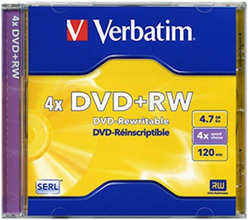 DVD Verbatim - DVD+RW - 4,7 Gb - 4x - Jewel case - 43246