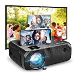 Bomaker Wi-Fi Mini Projector, Portable Projector for Outdoor Movies, Full HD Outdoor Movie Projector, Wireless Mirroring, for Smartphone/Laptops/PCs/Windows/DVD Player /TV Stick - Best Reviews Guide