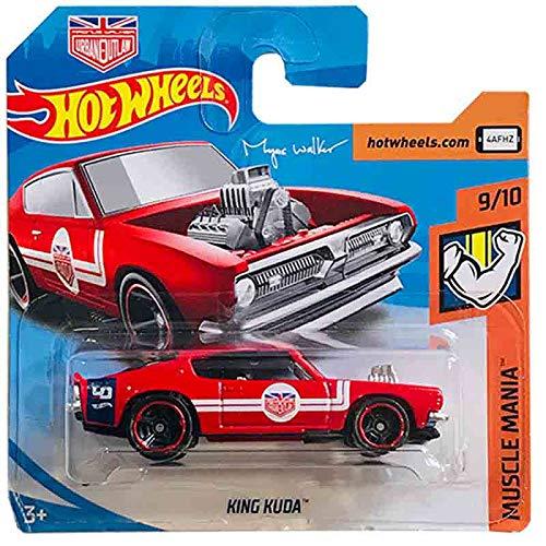 Mattel Cars Hot Wheels King Kuda Muscle Mania 140/250 2019 Short C
