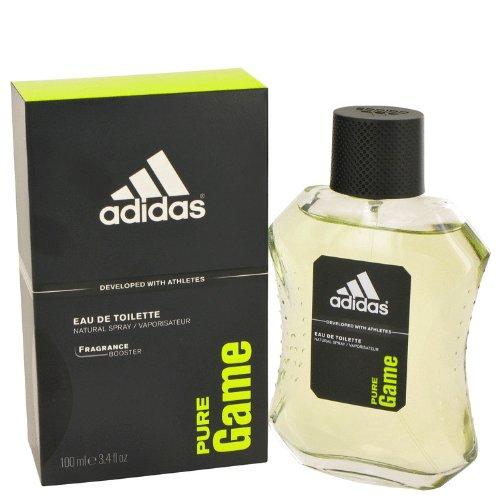 Adidas Pure Game Cologne By Adidas Eau De Toilette Spray For Men 3.4 oz Eau De Toilette Spray