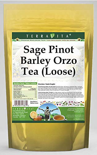Department store Outlet SALE Sage Pinot Barley Orzo Tea 568437 8 ZIN: oz Loose