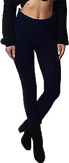 Rimi Hanger Women Snow Heart Knitted Leggings Ladies Full Length Christmas Pants