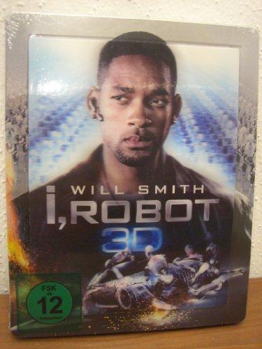 I, Robot 3D - Steelbook (Blu-ray 3D) Blu-ray Media-Markt Exklusive, Regionalfree, Limited Lenticular Steelbook