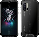 Ulefone Armor 7 Rugged Smartphone - Helio P90 Octa Core 8GB RAM +128GB ROM, 48MP +16MP +8MP Camera, 6.3-inch FHD+ Screen Android 9.0 IP68 Mobile Phone, 5500mAh Battery, Qi 10W Wireless Charge, NFC