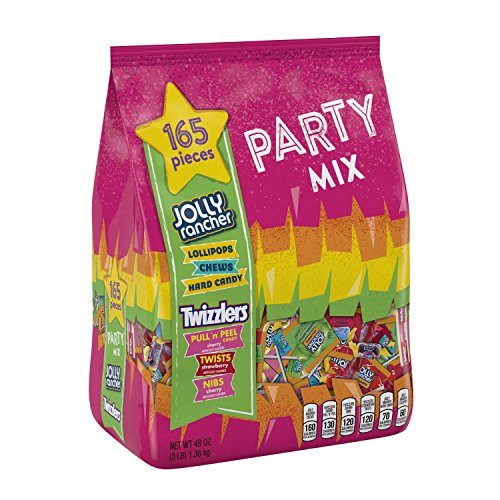Jolly Rancher & Twizzlers Candy Variety Pack, Fun Size, 165 Pieces, 48 Oz by Hershey's