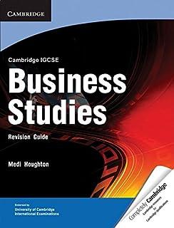 Cambridge International IGCSE: Cambridge IGCSE Business Studies Revision Guide