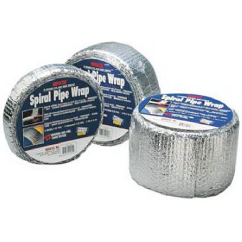 REFLECTIX INC Pipe Wrap Insulation Foil, Standard Edge, 2-In. x 25-Ft.