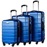 Best luggage sets - COOLIFE Luggage 3 Piece Set Suitcase Spinner Hardshell Review