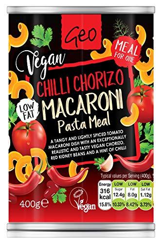 Geo Organics Chilli Chorizo Macaroni Pasta Meal 400g
