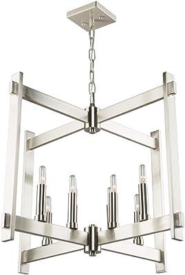 Amazon.com: Golden Lighting 6070-4BLK-BLK Tribeca - Lámpara ...