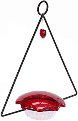 Birds Choice HSF Hummingbird Swing Bird Feeder, 3oz, Red