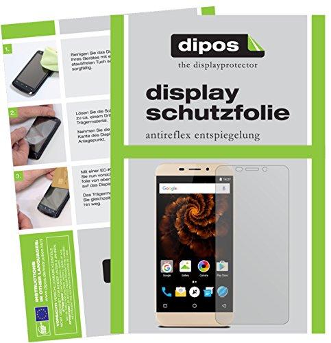 dipos I 6X Schutzfolie matt kompatibel mit Allview X4 Soul Mini Folie Bildschirmschutzfolie