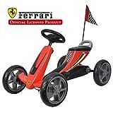 Galoper Galoper01 Scuderia Ferrari Kids Pedal Go Kart Pedal Powered...