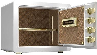 Z-COLOR Safe Household Small Fingerprint Safe Smart Mini Wall-to-Wall Safe Deposit Box (Size 27 * 32 * 40cm)