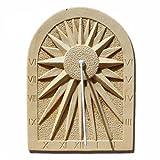 Cadran solaire Etoile en pierre reconstituée