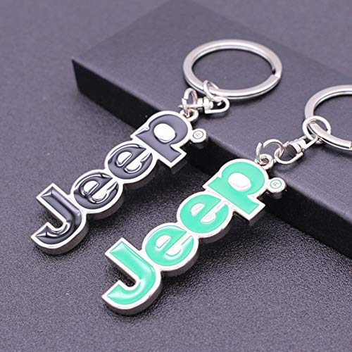 JPTACTICAL Jeep Logo Key Chain for Jeep Owner-Laser-Cut 304 Stainless Steel Keychain Key Ring-Never Rust, Bend or Break