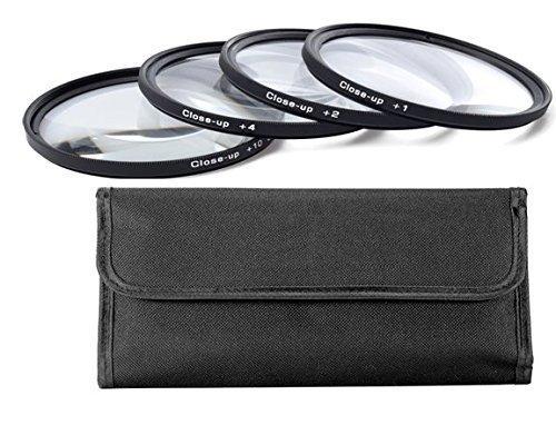 67MM (67 mm)Set Di 4 Filtri Close-up Macro (Primi Piani) Diottrie Filtro +1, +2, +4, +10 per Canon, Carl Zeiss, Fujifilm, Nikon, Panasonic, Pentax, Olympus, Samsung, Sigma, Sony, Tamron, Tokina Obiettivo