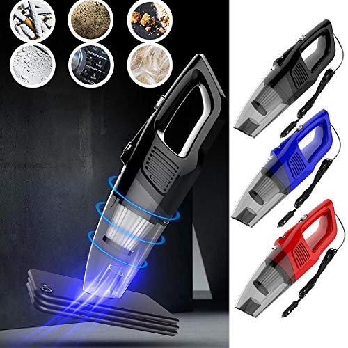 Find Discount GoodKE Car Vacuum Cleaner Wired Handheld Portable Big Power Central Vacuum Bags