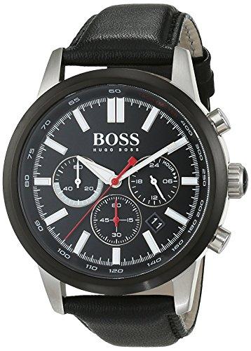 Hugo Boss Orologio da uomo cronografo quarzo pelle 1513191