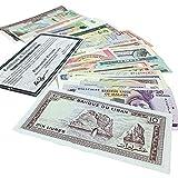 IMPACTO COLECCIONABLES - Alle Welt, 50 Verschiedene Banknoten von Anderer Welt -