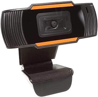 SHUHAN Webcam Web Camera 720P Manual Focus Webcam USB Camera with Microphone Computer Audio Video Accessory