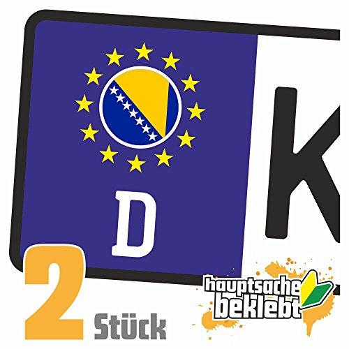 Bosnien und Herzegowina Kennzeichen Aufkleber Sticker Nummernschild Land Country Nation