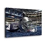 Dallas Cowboys Leinwand-Kunst-Poster und Wand-Kunstdruck,
